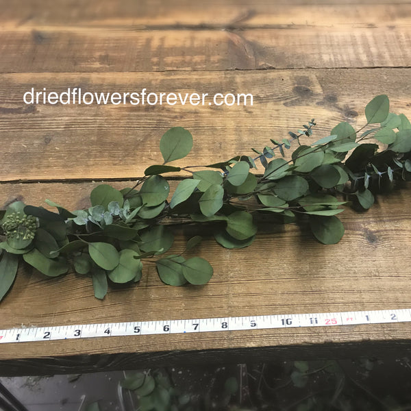 Preserved Eucalyptus Garland - 7ft