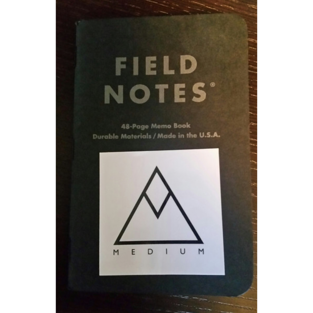 Inspiration: Field Notes by Draplin Design Co.