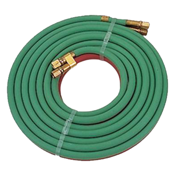 TurboTorch - 252-03P 12.5' Oxy/Acetylene Twin Torch Hose - 0386-1094
