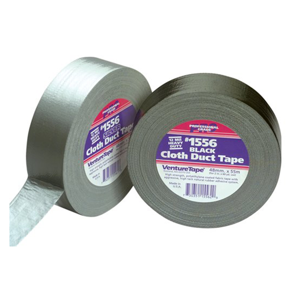 "3M - Professional Grade Cloth Duct Tape, Silver (2"" x 180') - 1556-S-2"