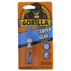 Gorilla Glue - Super Glue, Single 3g Tube - 7900102