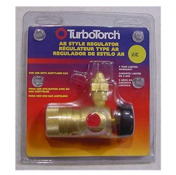 TurboTorch - AR-MC Acetylene Torch Regulator - 0386-0726