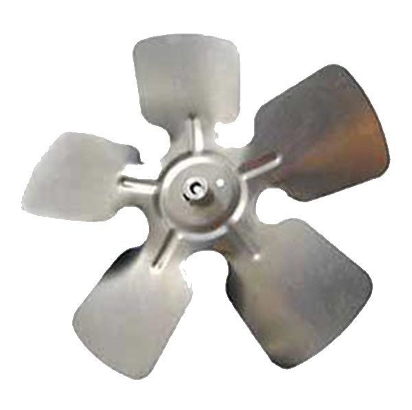 "Acme Miami - 5.5"" Aluminum Fan Blade, CCW, 3/16"" Bore, Hubless - 35513"