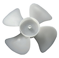 "Acme Miami - 6"" Plastic Fan Blade, CW, Bore 3/16"" - 2603"