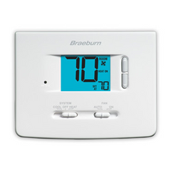 Braeburn - Single-Stage Dual Powered Thermostat - 1020NC