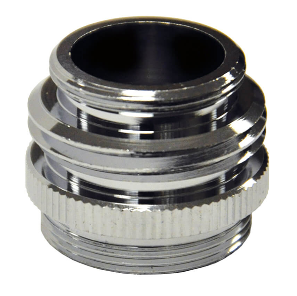 Danco - Dual Garden Hose Adapter (Chrome) - 10513