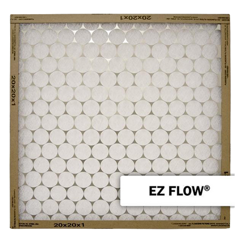 "Flanders - EZ Flow, One Sided Metal - 12"" x 12"" x 1"" - MERV 4"