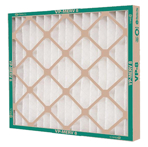 "Flanders - VP Extended Surface Pleated Filter, MERV 8 - 16"" x 25"" x 1"""