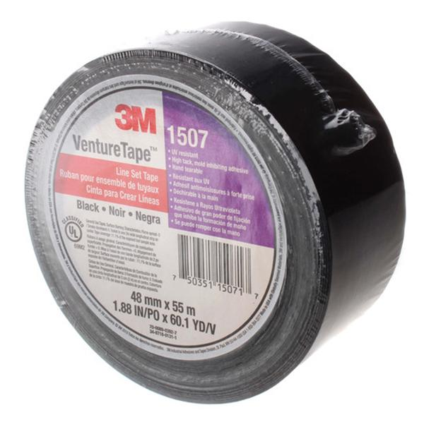"3M - Line Set Tape (2"" x 180'), Black - 1507-B-2"
