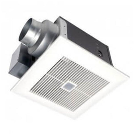 Panasonic - WhisperSense DC 50/80/110 CFM Ceiling Mounted Fan w/ Dual Motion & Humidity Sensor - FV-0511VQC1