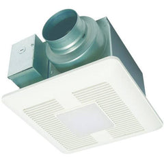Panasonic - WhisperLite DC 50/80/110 CFM Ceiling Ventilation Fan w/ LED Light - FV-0511VQL1