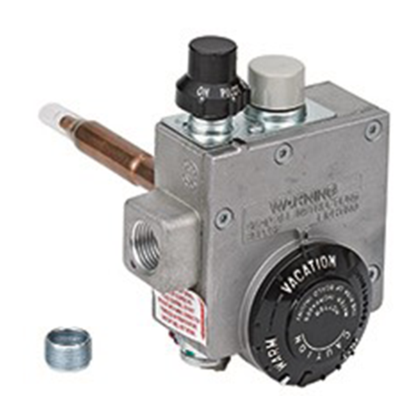 "Robertshaw - Natural Gas Water Heater Valve Uni-Kit w/ 1-3/8"" Shank (45,000 BTU) - 110-202"