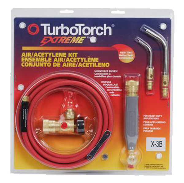 TurboTorch - X-6MC Air Acetylene Torch Kit, No Tanks - 0386-0339