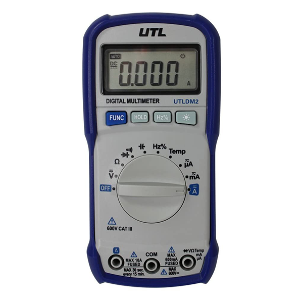 UEi - UTLDM1 UTL Manual Ranging Digital Multimeter - UTLDM1