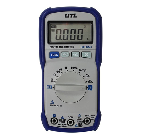 UEi - UTLDM2 UTL Auto Ranging Digital Multimeter - UTLDM2