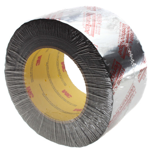 "3M - Printed Flexible Duct Closure Tape, Silver (3"" x 360') - UL181B-FX-S3"