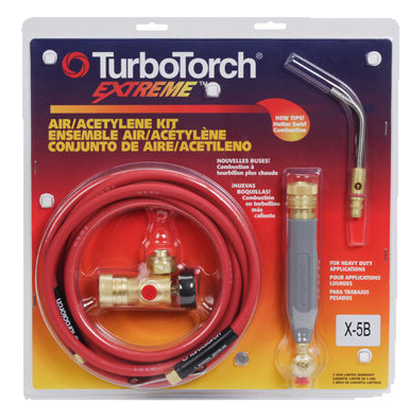 TurboTorch - X-5B Air Acetylene Torch Kit, No Tanks - 0386-0338