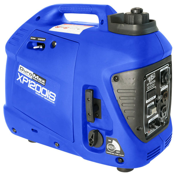 DuroMax - 1200W Portable Digital Inverter Gas Powered Generator - XP1200iS