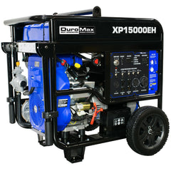 DuroMax - 15000W V-Twin Electric Start Dual Fuel Hybrid Portable Generator - XP15000EH