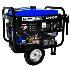 DuroMax - 4400W 7 HP RV Grade Gas Generator w/ Electric Start and Wheel Kit - XP4400E