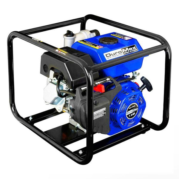 DuroMax - 7 HP 3 in Portable Gasoline Engine Water Pump - XP650WP