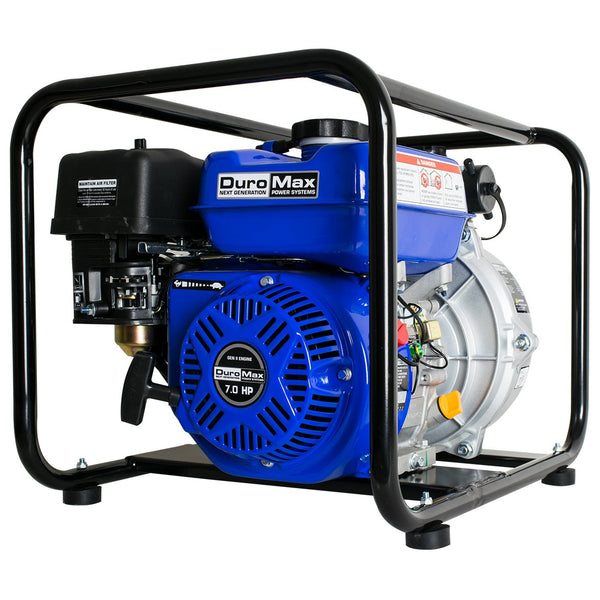 DuroMax - 212 CC 7 HP 2 in 70 GPM Gas Powered High Pressure Water Pump - XP702HP