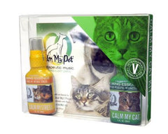 Calm My Cat Kit          20% Retail savings           (includes Calm My Dog, Calm My Stress, and CMP Music)