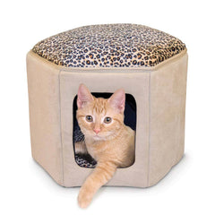 Beds - No-Dogs-Allowed Kitty Clubhouse (HEATED)