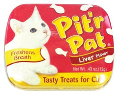 Dental - Pit'r Pat Liver Cat Treats, 1 Case Of 12 Tins