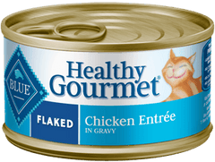 Food - BLUE Healthy Gourmet® Flaked Chicken Entrée