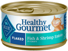 Food - BLUE Healthy Gourmet® Flaked Fish & Shrimp Entrée