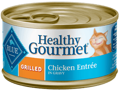 Food - BLUE Healthy Gourmet® Grilled Chicken Entrée, 24 Cans, 3-oz