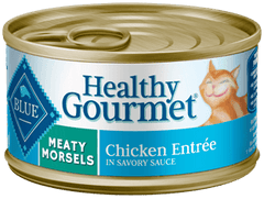Food - BLUE Healthy Gourmet® Meaty Morsels Chicken Entrée