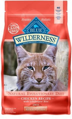 Food - BLUE Wilderness® Indoor Hairball & Weight Control Chicken Recipe