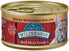 Food - BLUE Wilderness® Rocky Mountain Recipe™ Red Meat Feast, 24 Cans, 5.5-oz