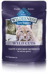 Food - BLUE Wilderness® Wild Cuts Tasty Toppers Tasty Chicken Morsels, 24 Pouches, 3-oz