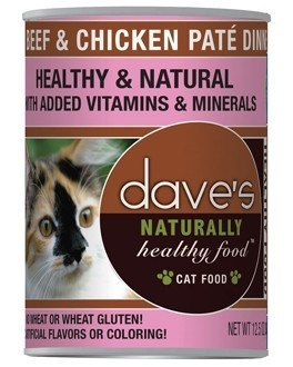 Daves Pet Food Naturally Healthy Grain-Free Beef & Chicken Dinner