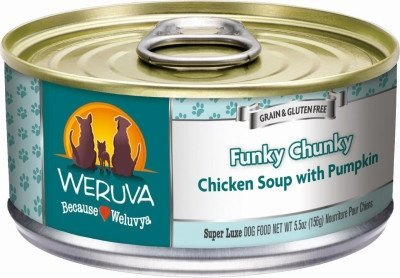 Funky Chunky Chicken Soup  - Chicken Soup With Pumpkin