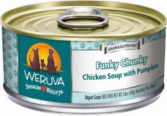 Food - Funky Chunky Chicken Soup  – Chicken Soup With Pumpkin