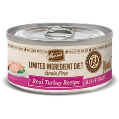 Food - Merrick Limited Ingredient Diet Grain-Free Real Turkey Paté Recipe, 24 Cans, 5-oz