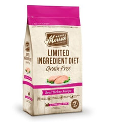 Food - Merrick Limited Ingredient Diet Grain-Free Real Turkey Recipe
