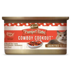 Food - Merrick Purrfect Bistro Grain-Free Cowboy Cookout Morsels (in Gravy)