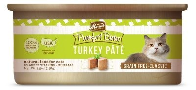 Merrick Purrfect Bistro Grain-Free Turkey Pate