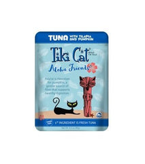 Food - Tiki Cat Aloha Friends Tuna With Tilapia & Pumpkin, 12 3-oz Pouches