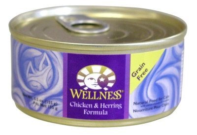 Wellness Canned Chicken & Herring Formula