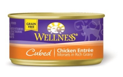 Wellness Cubed Chicken Entree