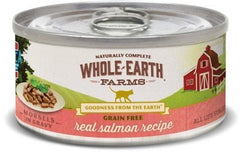 Food - Whole Earth Farms Grain-Free Morsels In Gravy Salmon Recipe