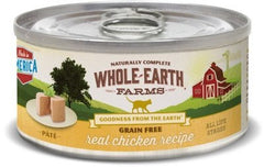 Food - Whole Earth Farms Grain-Free Real Chicken Paté Recipe