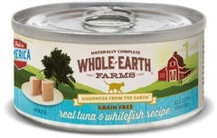 Food - Whole Earth Farms Grain-Free Real Tuna & Whitefish Paté
