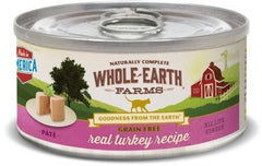 Food - Whole Earth Farms Grain-Free Real Turkey Paté